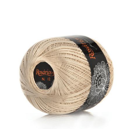 Linha de crochet – cores metálicas