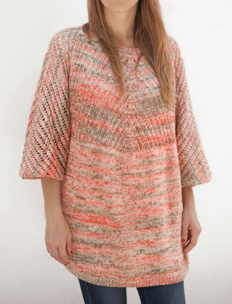 For Nature Print tunic