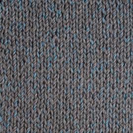 amostra tricotada Cordatta Moulinet azul
