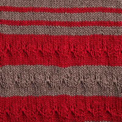 amostra tricotada Jardim
