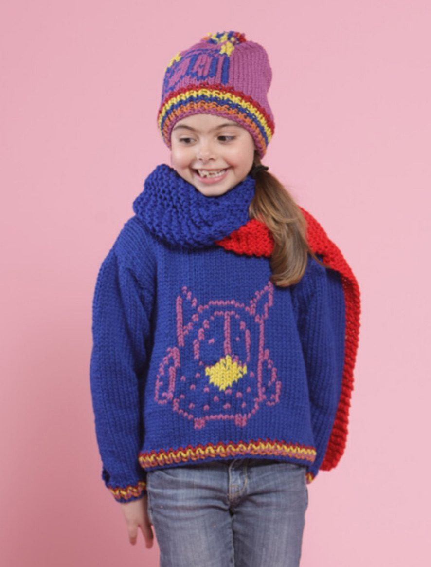 115 | Cordatta Owl Sweater and Beanie