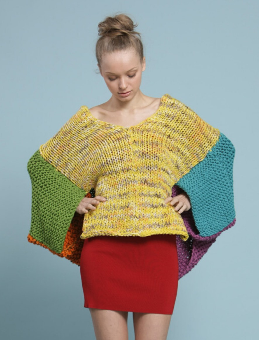 107 | Colourful Poncho